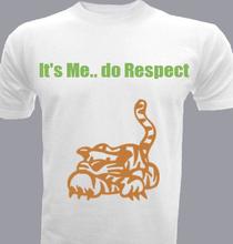 tiger_respect T-Shirt
