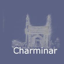 Hyderabad charminar_ T-Shirt