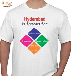Hyderabad - T-Shirt