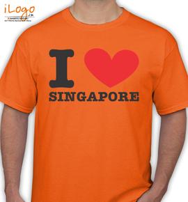 singapur - T-Shirt
