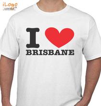 i love brisbane T-Shirt