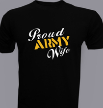 Proud-Army-Wife- T-Shirt