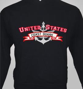 us-coast-guard-hoodie - Hoody