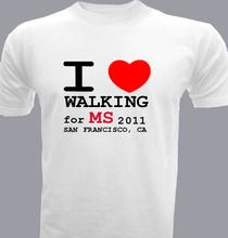 i-heart-walking T-Shirt