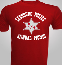 LEESBURG-POLICE T-Shirt