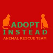 Charity run/walk adopt-instead- T-Shirt