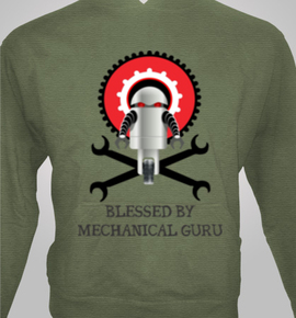 Mechanical Guru Hoodies Unisex At Best Price Editable
