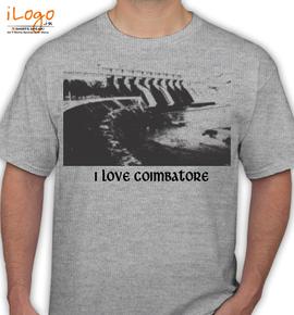Coimbatore - T-Shirt