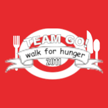 Charity run/walk Team-Walk-for-Hunger T-Shirt