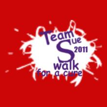 Charity run/walk Team-Walk-for-a-Cure T-Shirt
