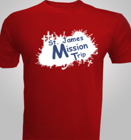 St-and--James-Mission-Trip - T-Shirt