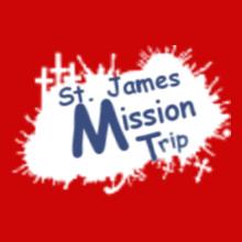 Charity run/walk St-and--James-Mission-Trip T-Shirt