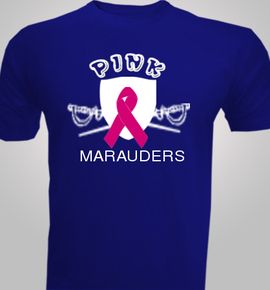 Pink-Marauders- - T-Shirt