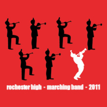 Rochester-Marching-Band- T-Shirt