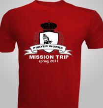 Prayer-Works-Mission-Trip T-Shirt