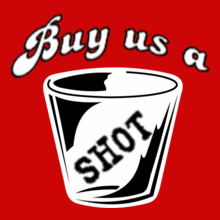 Bachelorette Party Buy-us-a-SHOT T-Shirt