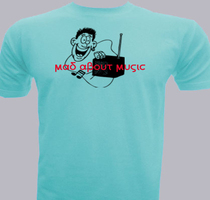 general-performance Mad-about-music T-Shirt
