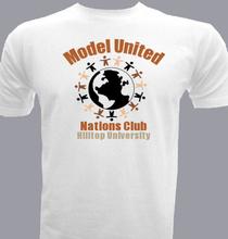 Model-United T-Shirt