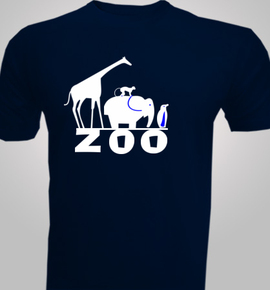 field and zoo and trip - T-Shirt