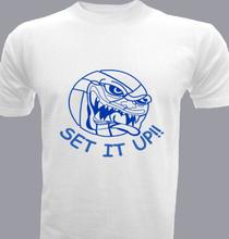 Volleyball set-it-up- T-Shirt