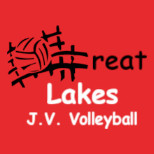 Volleyball great-lakes-volleyball- T-Shirt