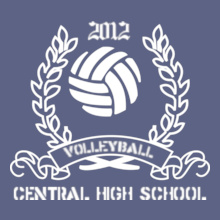 Volleyball Volleyball-design-Team- T-Shirt
