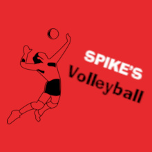 Volleyball spike- T-Shirt