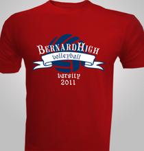 Volleyball Bernard-Volleyball- T-Shirt