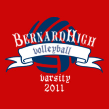 Volleyball Bernard-Volleyball- T-Shirt