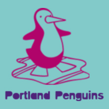 Cheerleading Portland-Penguins T-Shirt