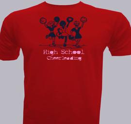 High school cheerleading - T-Shirt