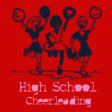 Cheerleading High-school-cheerleading T-Shirt