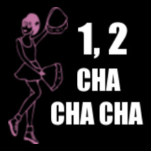 Cheerleading CHA-CHA-CHA T-Shirt