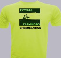 Cheerleading Flyville-Flamingoes-Cheerleading T-Shirt