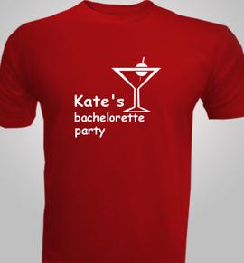 kates and bachelorette  - T-Shirt