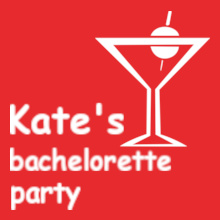 Bachelorette Party kates-and-bachelorette- T-Shirt
