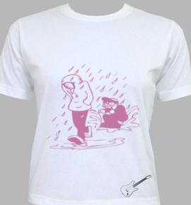 alone rain - T-Shirt [F]