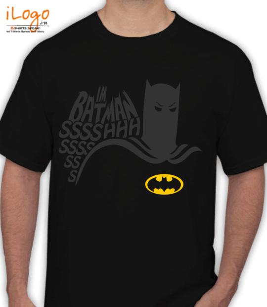 black i'm batman!:front