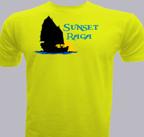 Sailing Sunset-Raga T-Shirt