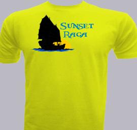 Sunset-Raga - T-Shirt