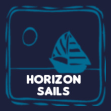 Sailing Horizon-Sails T-Shirt
