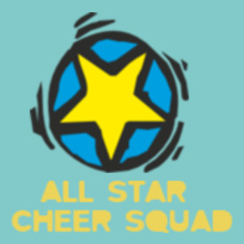 Cheerleading All-star-cheer-squad T-Shirt
