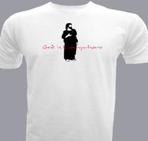 Jesus God-is-everywhere T-Shirt