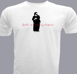 God is everywhere - T-Shirt
