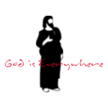Jesus God-is-everywhere T-Shirt