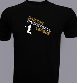 oakton and basketball t shirt