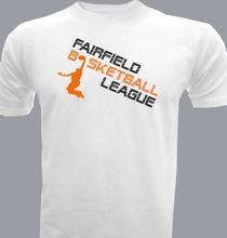 Basketball fairfield-and-basketball- T-Shirt