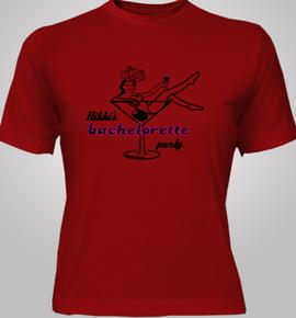 nikks bachelorette  - T-Shirt [F]