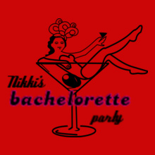 Bachelorette Party nikks-bachelorette- T-Shirt