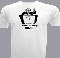 Jesus There-is-only-one T-Shirt